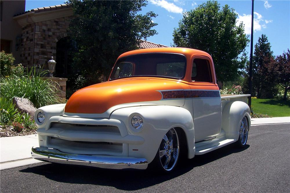 1954 CHEVROLET 3600 CUSTOM PICKUP - Side Profile - 112858