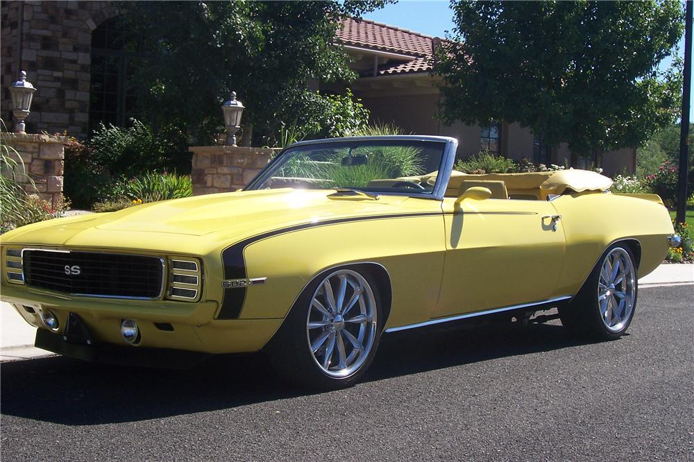 1969 Chevrolet Camaro Custom Convertible 112859