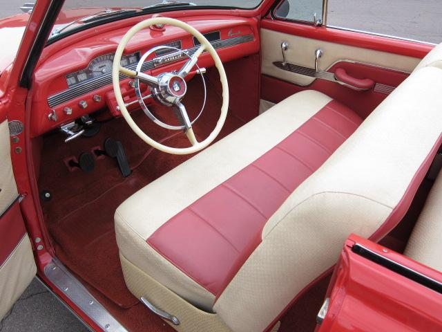 1953 PLYMOUTH BELVEDERE CONVERTIBLE - Interior - 112861