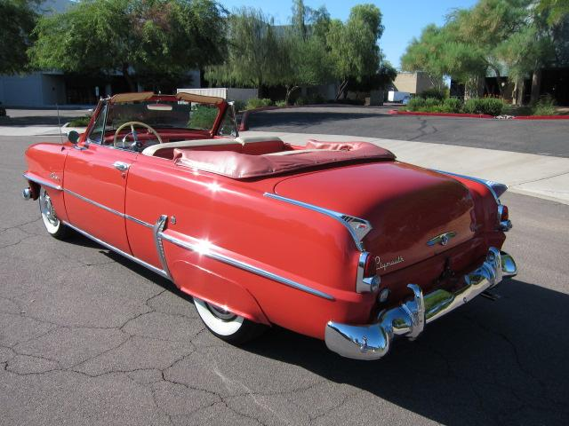 1953 PLYMOUTH BELVEDERE CONVERTIBLE - Rear 3/4 - 112861