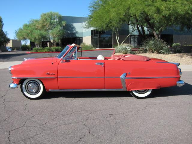 1953 PLYMOUTH BELVEDERE CONVERTIBLE - Side Profile - 112861