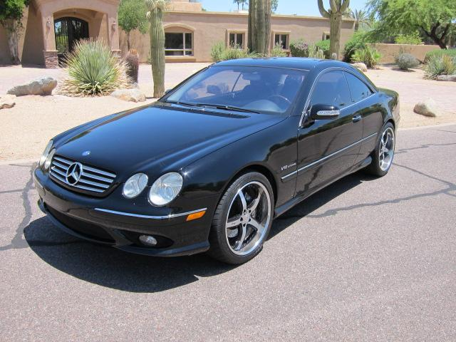 2003 MERCEDES-BENZ CL600 2 DOOR COUPE - Front 3/4 - 112862