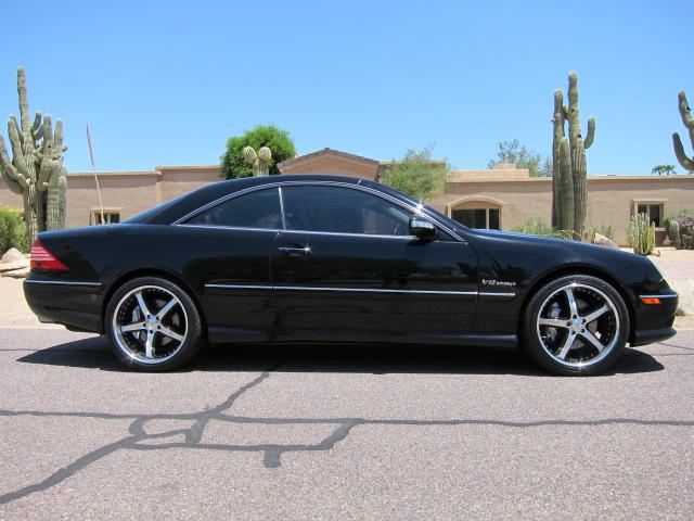 2003 MERCEDES-BENZ CL600 2 DOOR COUPE - Side Profile - 112862