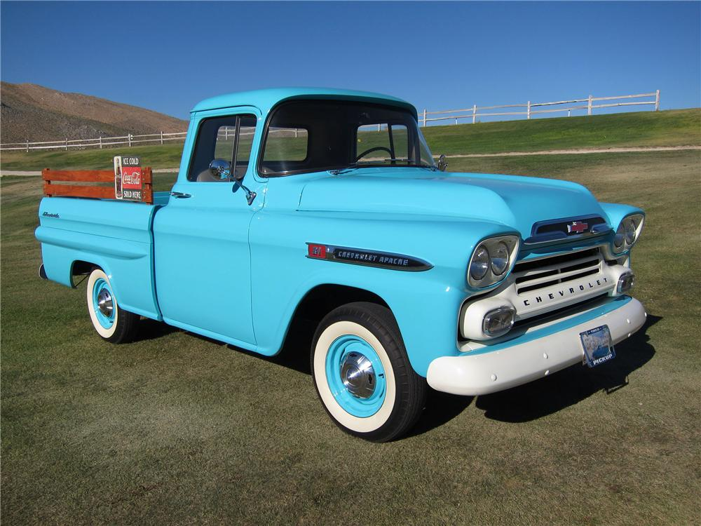 1959 Truck Project Autos Post