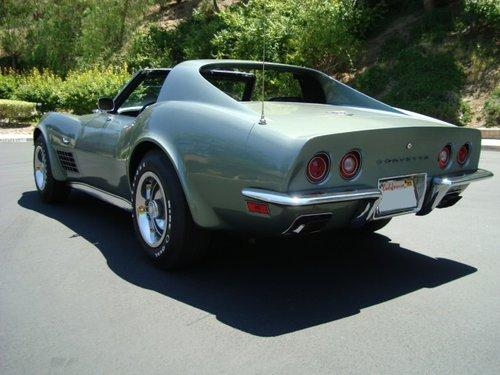 1972 CHEVROLET CORVETTE 2 DOOR COUPE - Rear 3/4 - 112868