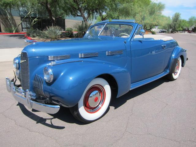 1940 LASALLE 52 CONVERTIBLE - Front 3/4 - 112869
