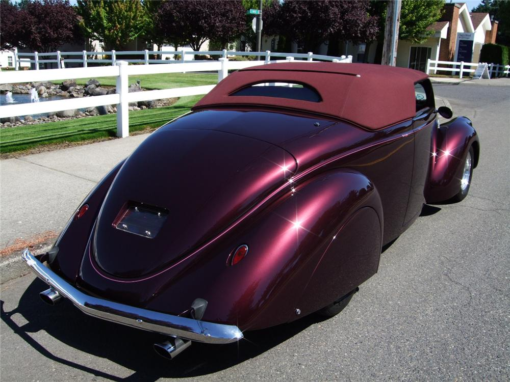 1937 Lincoln Zephyr Custom Roadster 112876