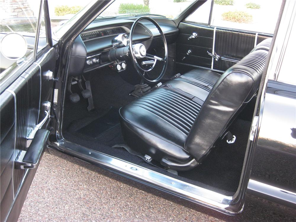 1964 CHEVROLET BEL AIR 2 DOOR SEDAN - Interior - 112878