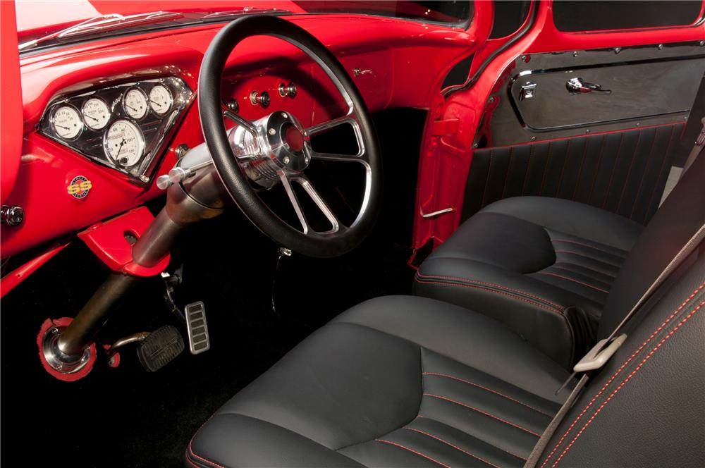 1956 CHEVROLET 3200 CUSTOM PICKUP - Interior - 112879