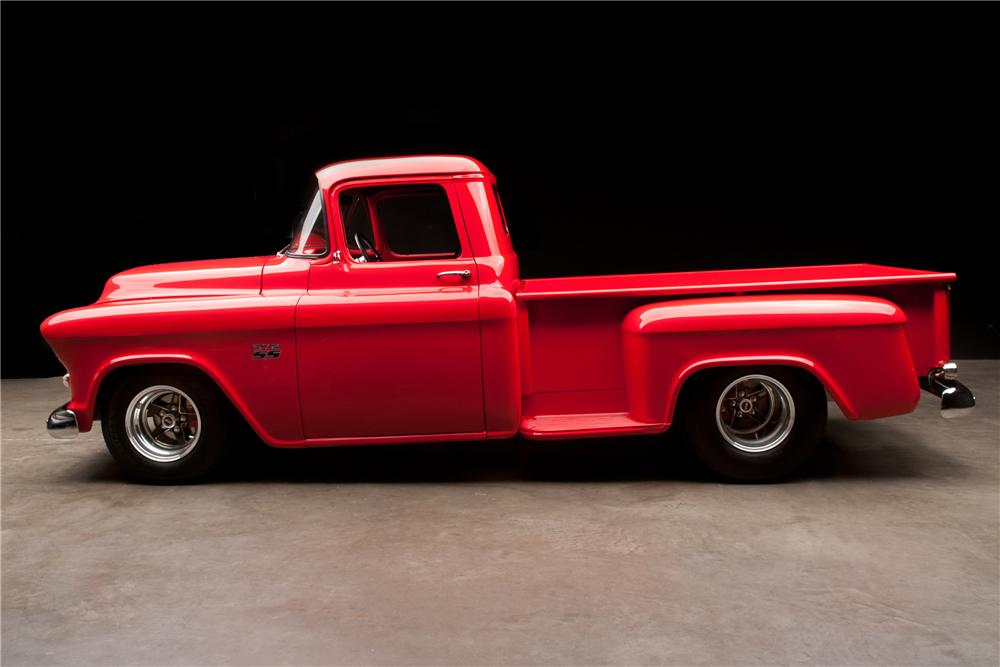 1956 CHEVROLET 3200 CUSTOM PICKUP - Side Profile - 112879