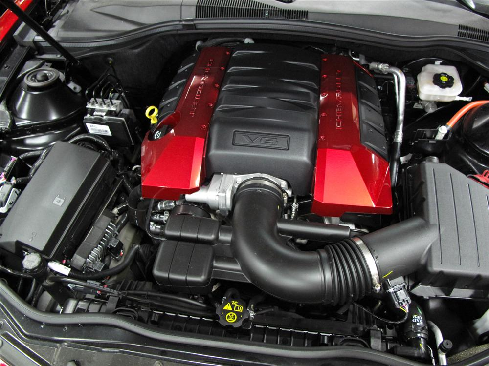 2010 CHEVROLET CAMARO 2SS DALE EARNHARDT LIMITED EDITION - Engine - 112884
