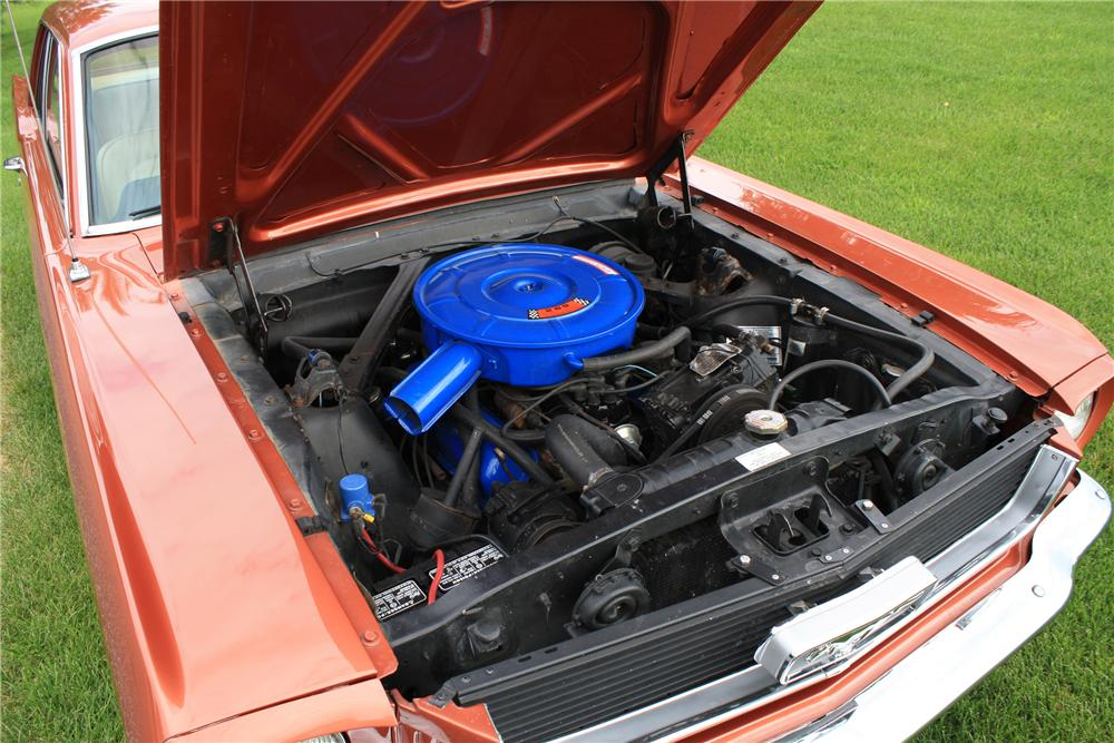 1966 FORD MUSTANG 2 DOOR COUPE - Engine - 112895