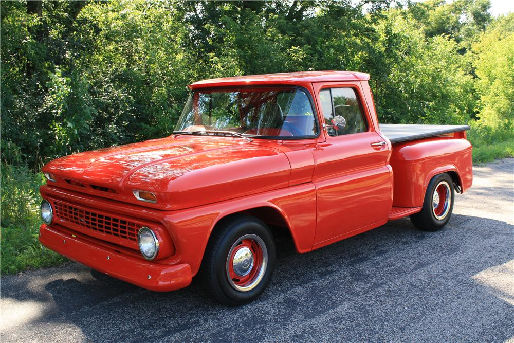 1963 CHEVROLET CUSTOM PICKUP - Front 3/4 - 112898