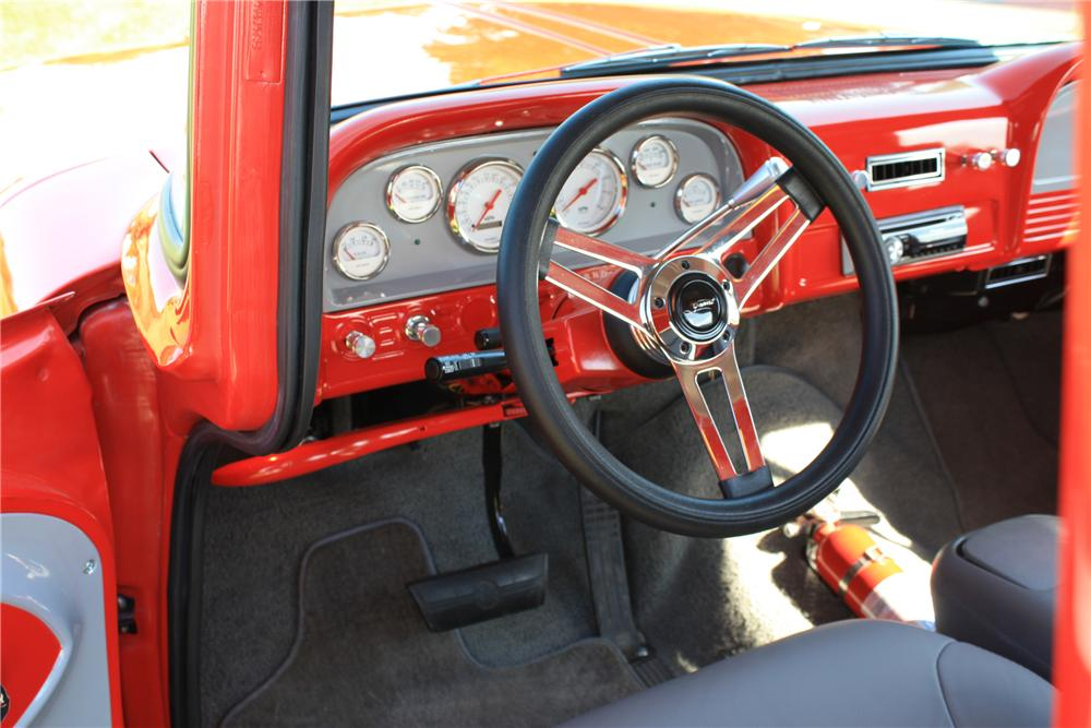 1963 CHEVROLET CUSTOM PICKUP - Interior - 112898
