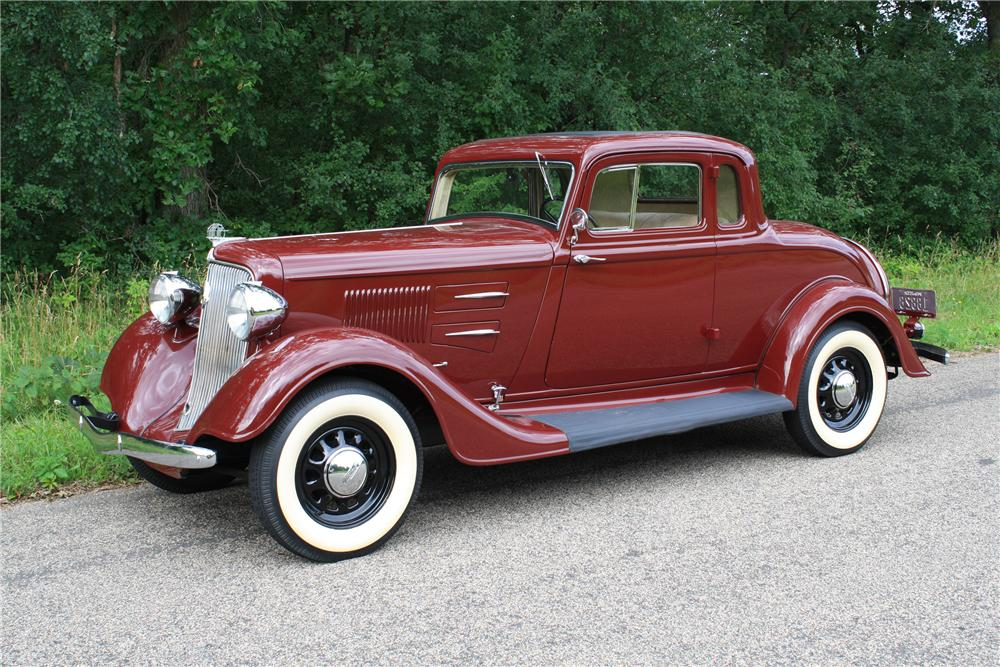1934 PLYMOUTH 2 DOOR COUPE