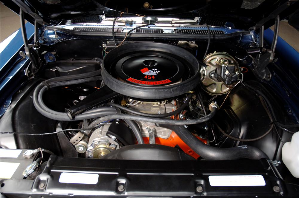 1970 CHEVROLET CHEVELLE LS6 CONVERTIBLE - Engine - 112903
