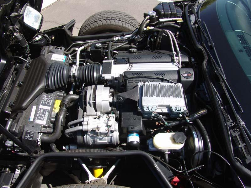 1994 CHEVROLET CORVETTE 2 DOOR COUPE - Engine - 112904