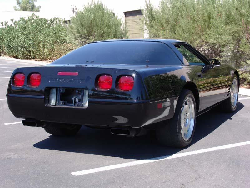 1994 CHEVROLET CORVETTE 2 DOOR COUPE - Rear 3/4 - 112904