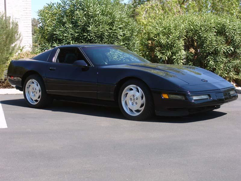 1994 CHEVROLET CORVETTE 2 DOOR COUPE - Side Profile - 112904