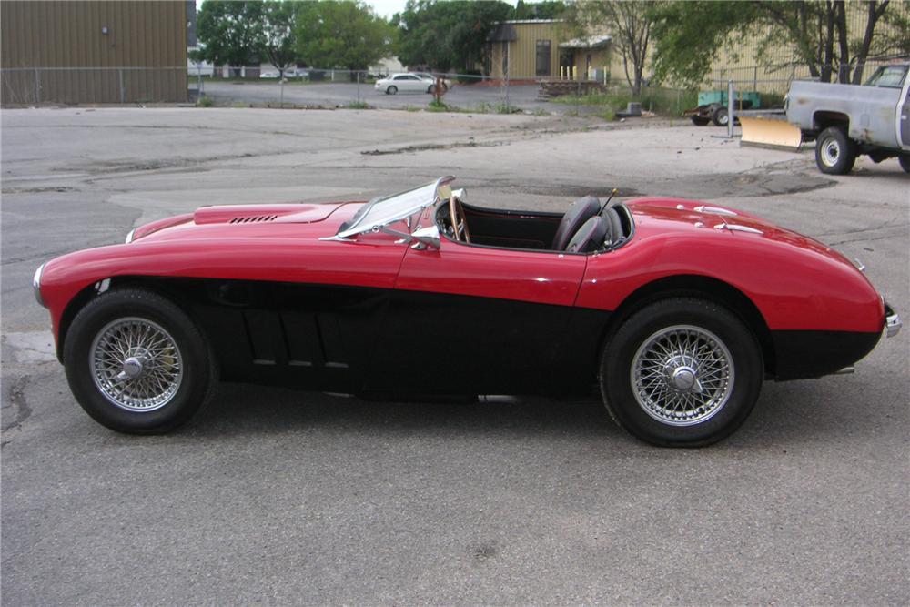 1956 AUSTIN-HEALEY BN2 CONVERTIBLE - Side Profile - 112905