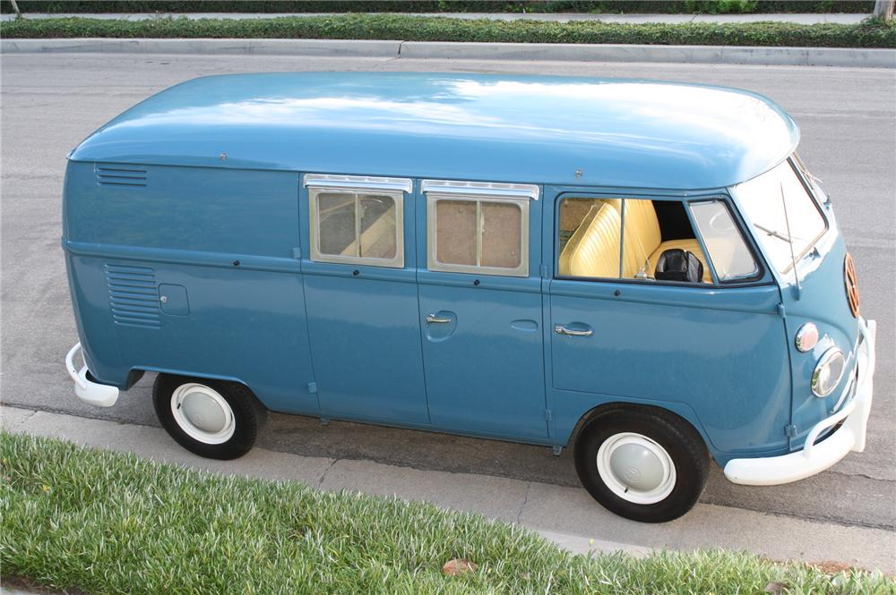 1966 VOLKSWAGEN CAMPER BUS - Side Profile - 112907