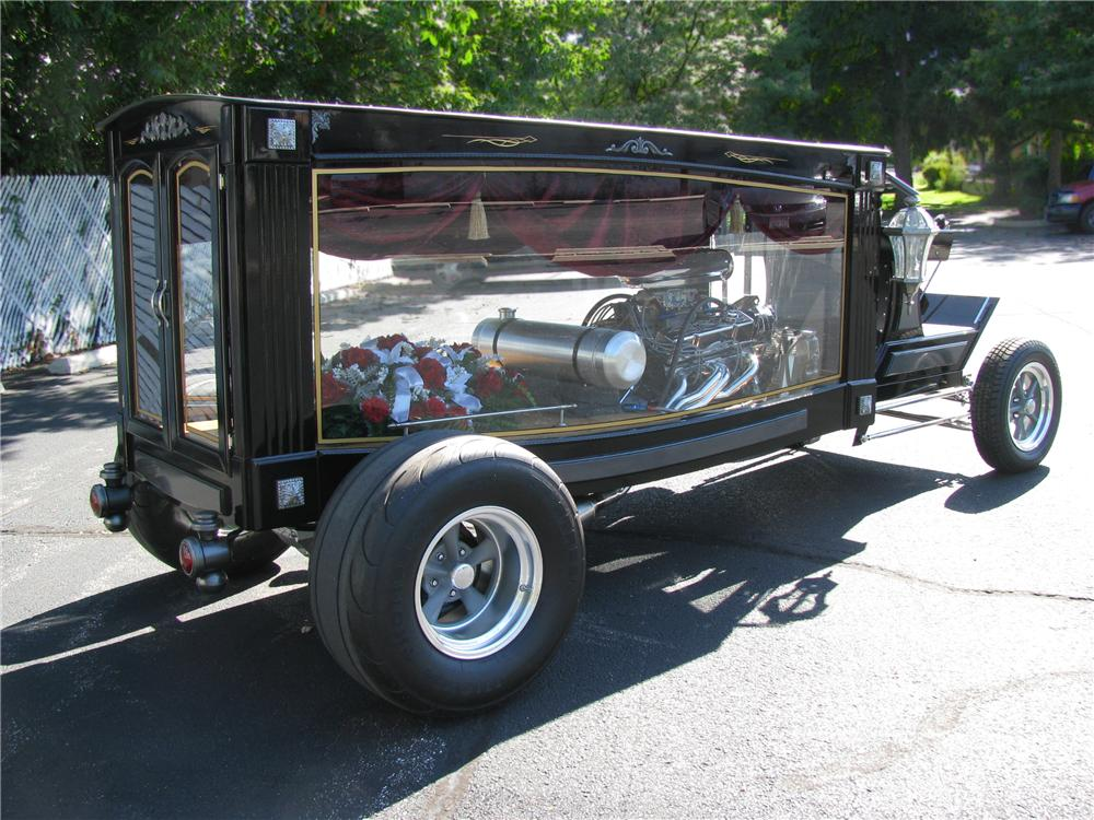 2011 CHEVROLET CUSTOM HOT ROD HEARSE - Rear 3/4 - 112941