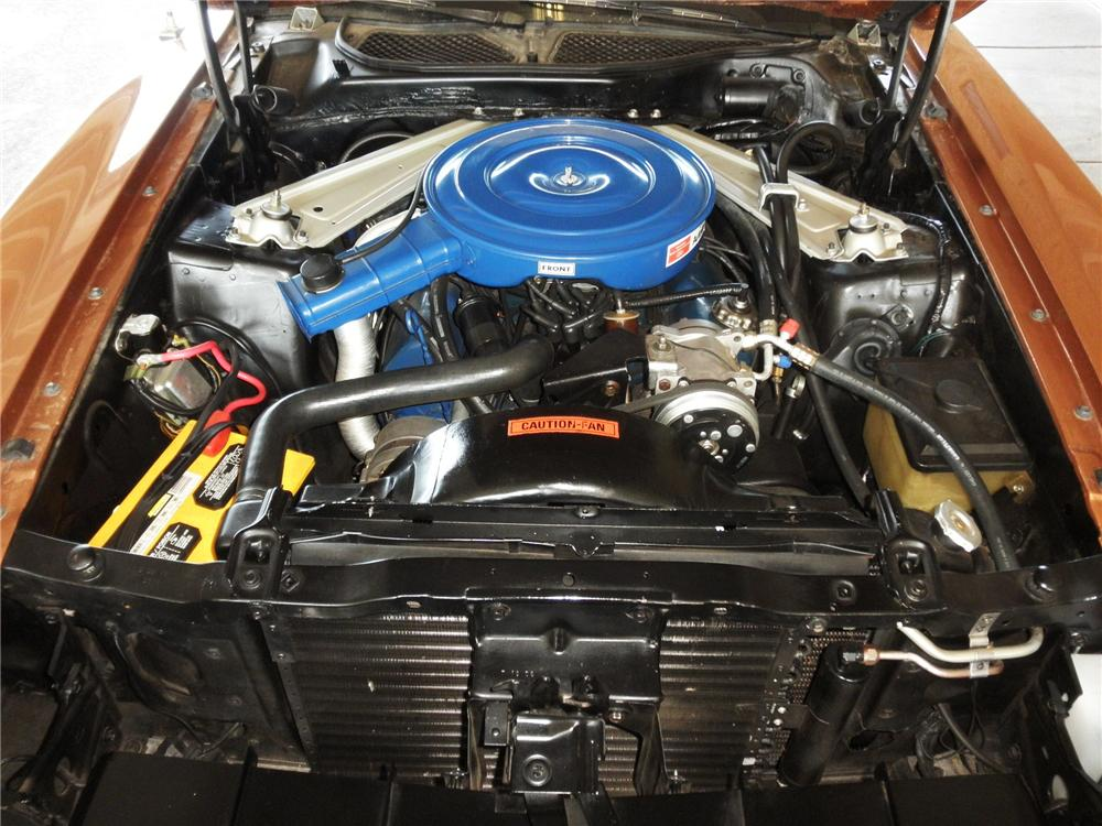 1971 FORD MUSTANG GRANDE 2 DOOR COUPE - Engine - 112945