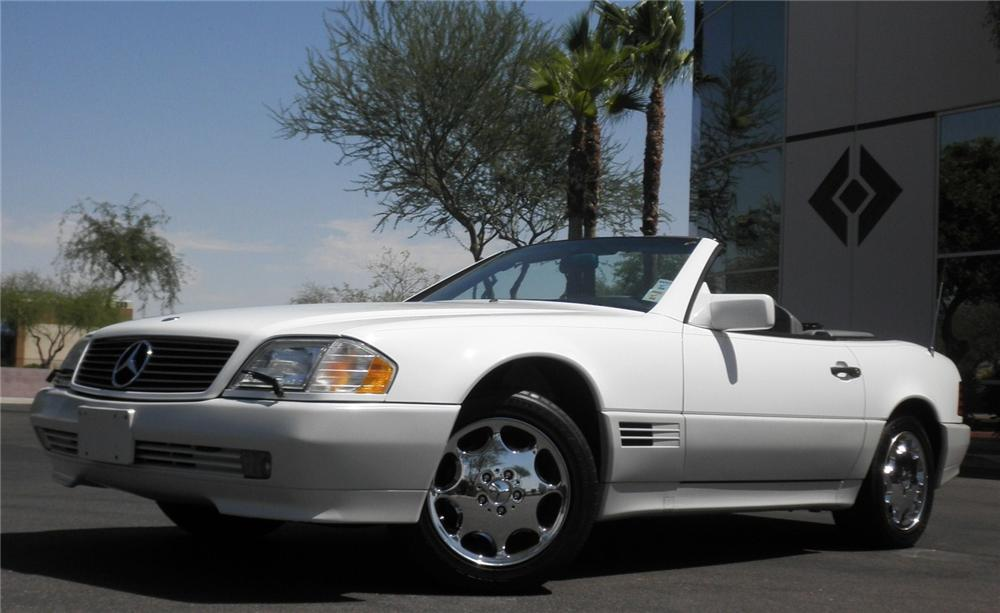 1995 MERCEDES-BENZ SL500 CONVERTIBLE - Front 3/4 - 112946