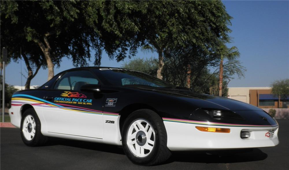 1993 CHEVROLET CAMARO INDY PACE CAR 2 DOOR COUPE - Front 3/4 - 112947