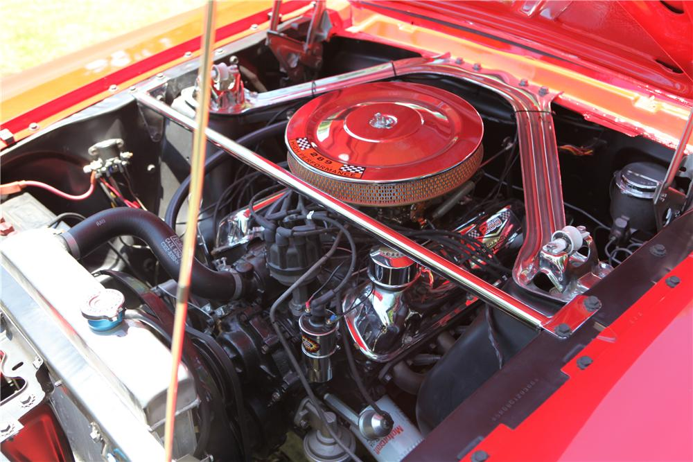 1965 FORD MUSTANG CUSTOM CONVERTIBLE - Engine - 112950