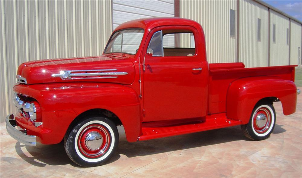 1952 FORD F-100 PICKUP - Front 3/4 - 112980