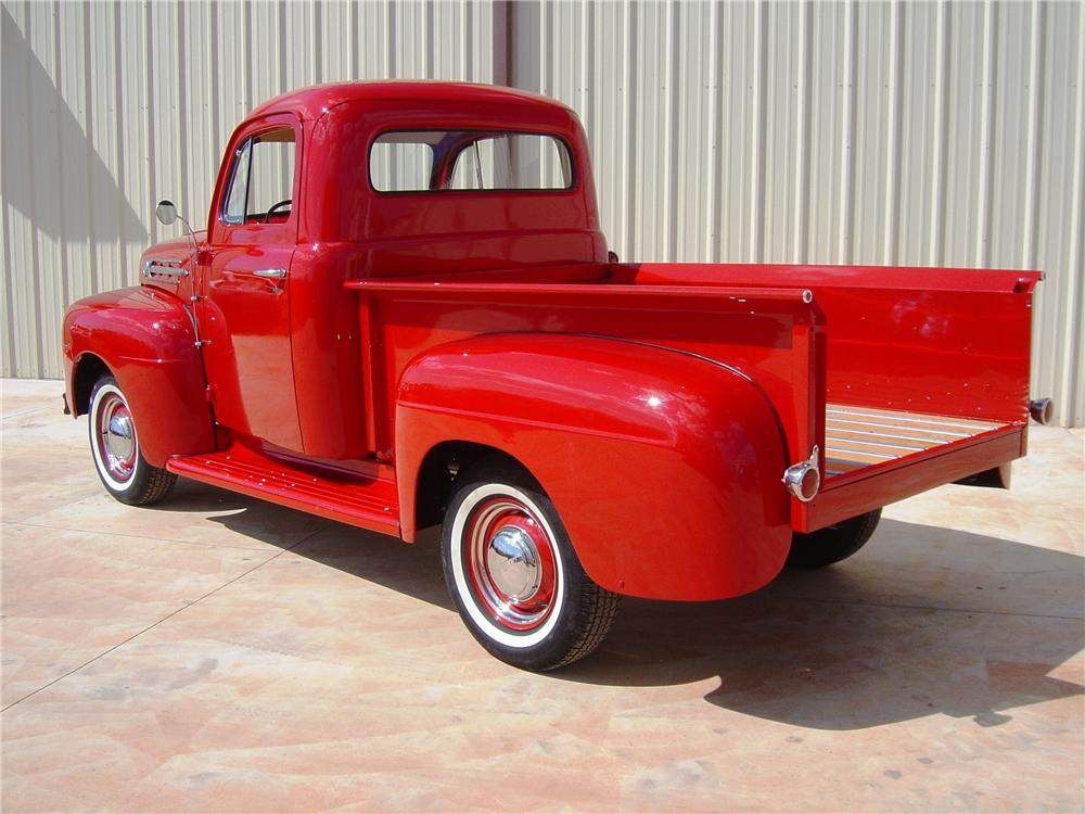 1952 FORD F-100 PICKUP - Rear 3/4 - 112980