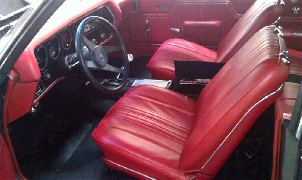 1970 CHEVROLET CHEVELLE SS COUPE - Interior - 113001
