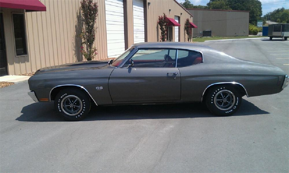 1970 CHEVROLET CHEVELLE SS COUPE - Side Profile - 113001