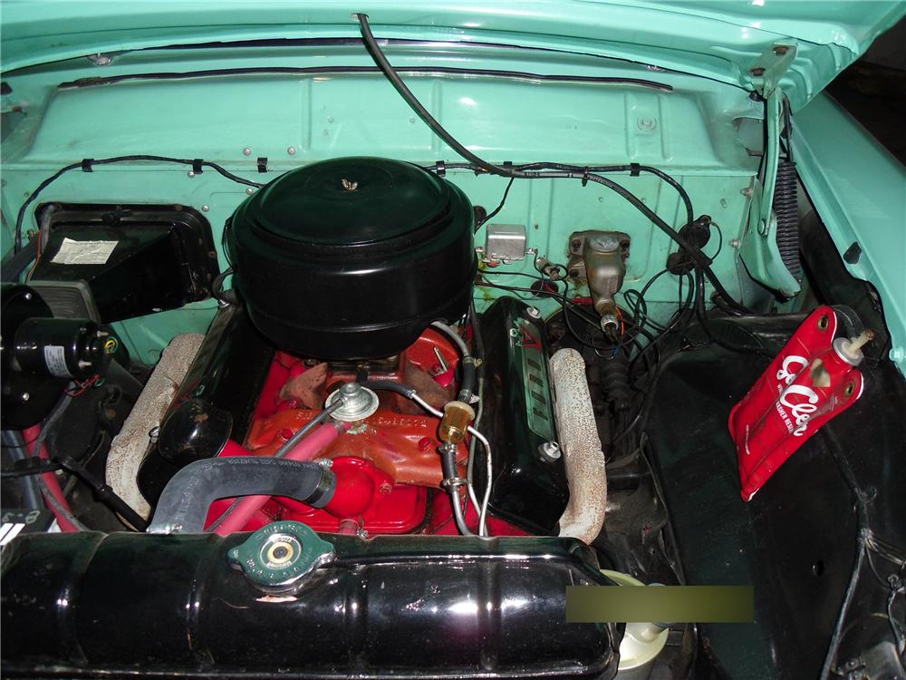 1955 FORD COUNTRY SEDAN WAGON - Engine - 113015