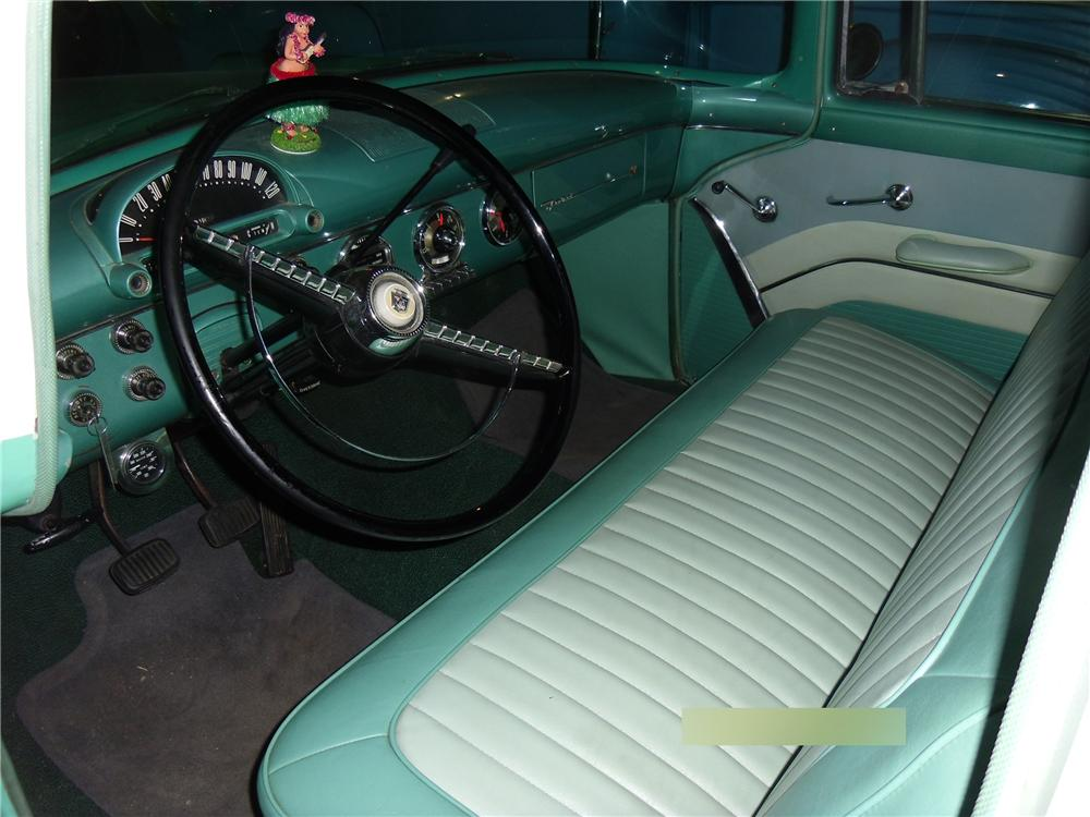 1955 FORD COUNTRY SEDAN WAGON - Interior - 113015
