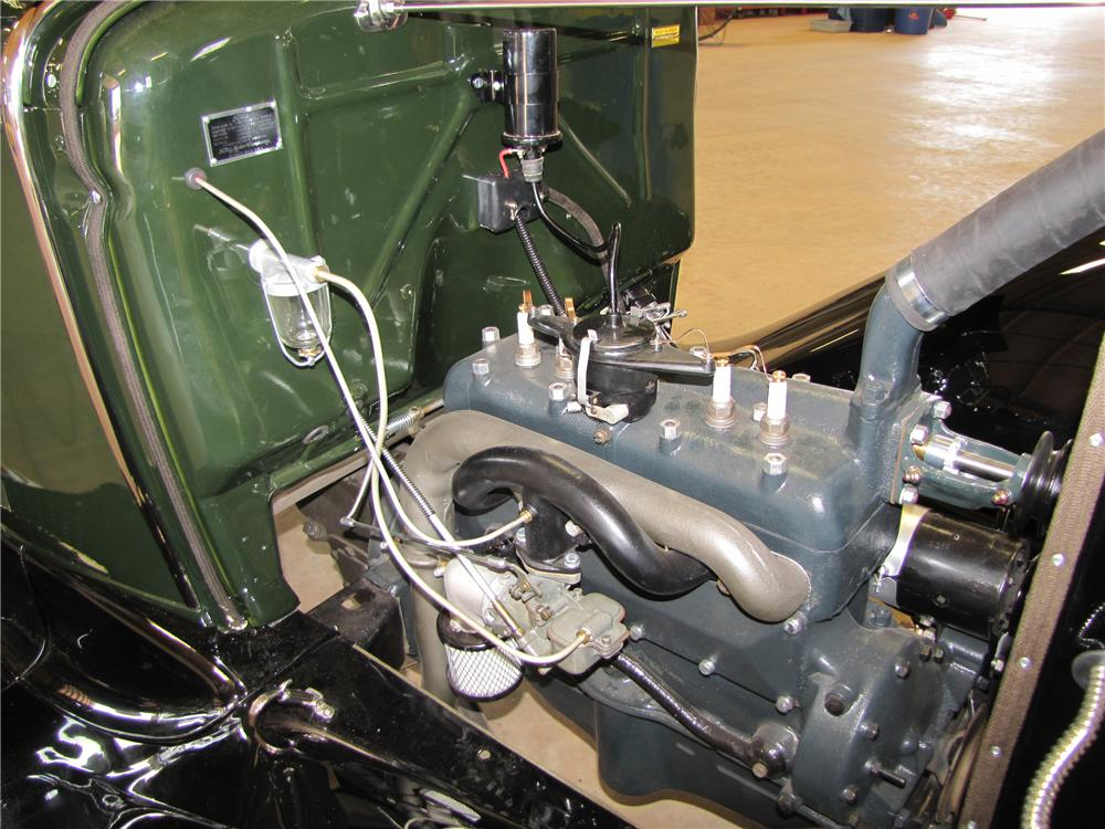 1931 FORD MODEL AA PICKUP - Engine - 113016