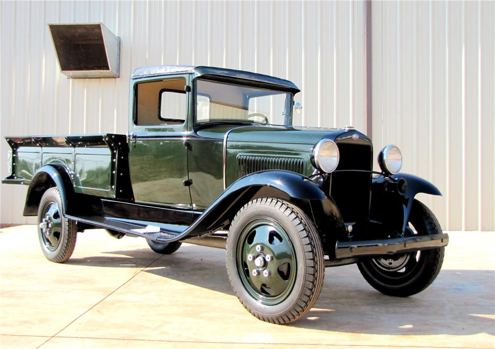 1931 FORD MODEL AA PICKUP - Front 3/4 - 113016