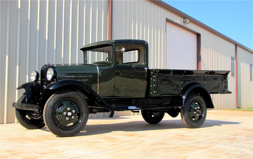 1931 FORD MODEL AA PICKUP - Side Profile - 113016