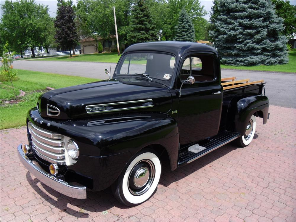 North Brothers Ford >> 1950 FORD F-1 PICKUP