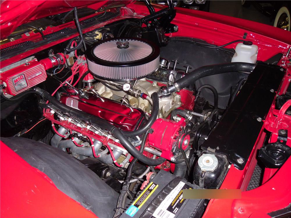 1971 CHEVROLET CHEVELLE CUSTOM COUPE - Engine - 113022
