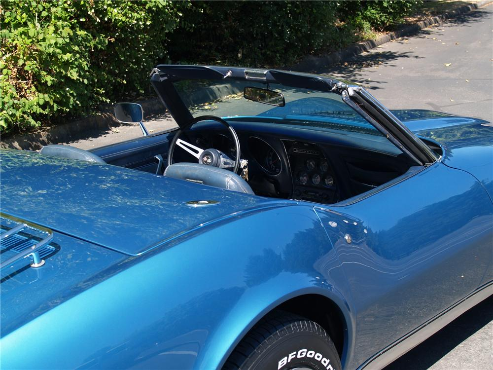 1974 CHEVROLET CORVETTE CONVERTIBLE - Interior - 113040