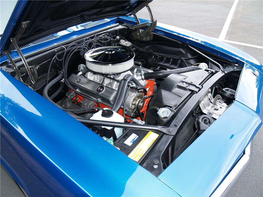 1969 CHEVROLET CAMARO COUPE - Engine - 113041