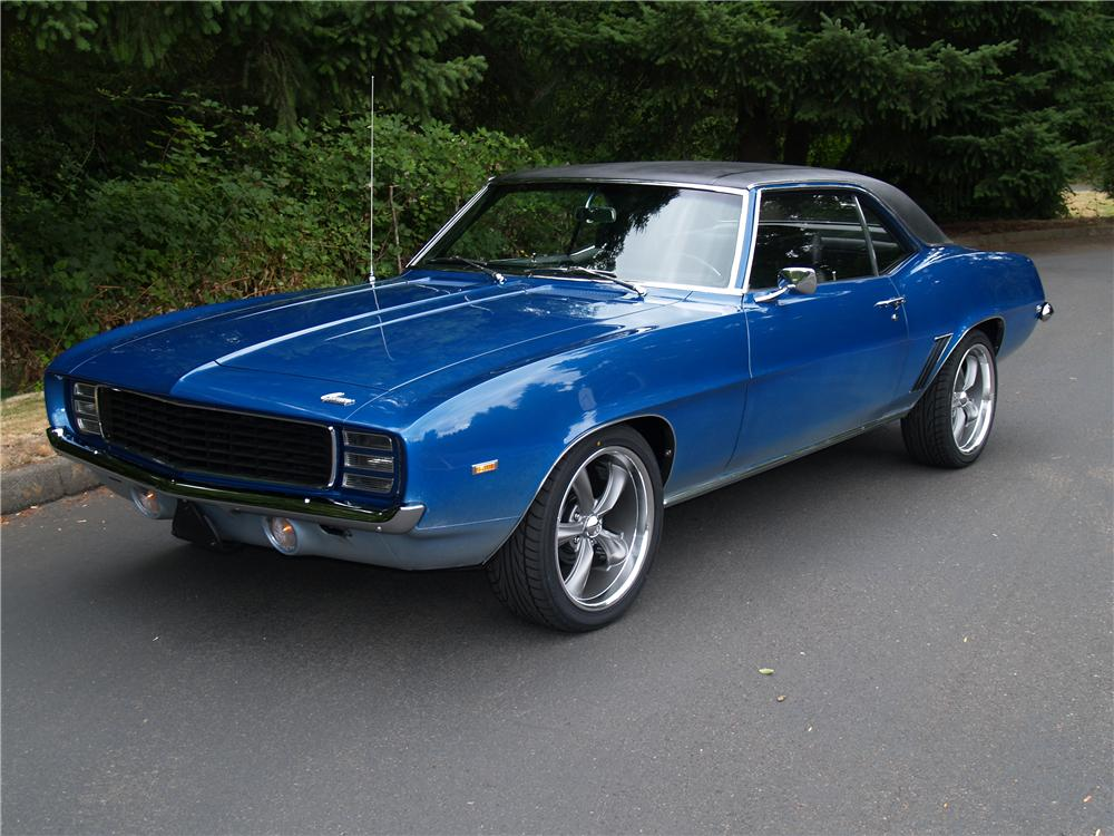 1969 CHEVROLET CAMARO COUPE - Front 3/4 - 113041