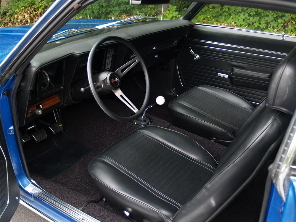 1969 CHEVROLET CAMARO COUPE - Interior - 113041