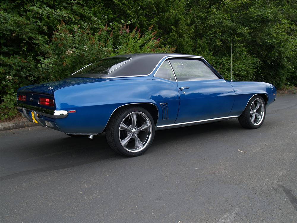 1969 CHEVROLET CAMARO COUPE - Rear 3/4 - 113041