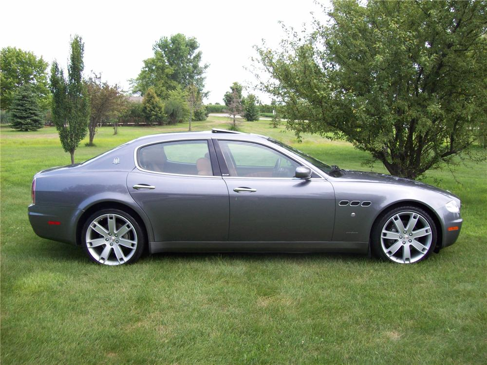 2007 MASERATI QUATTRO PORTE 4 DOOR SEDAN SPORT GT - Side Profile - 113054