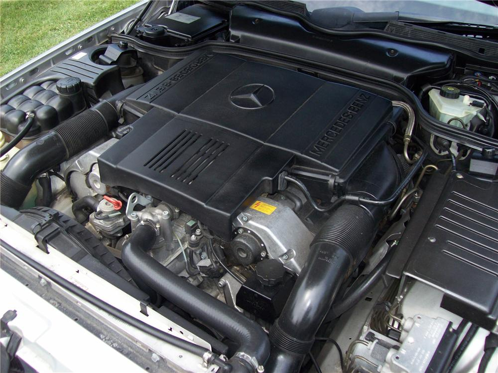 1998 MERCEDES-BENZ SL500 ROADSTER - Engine - 113059
