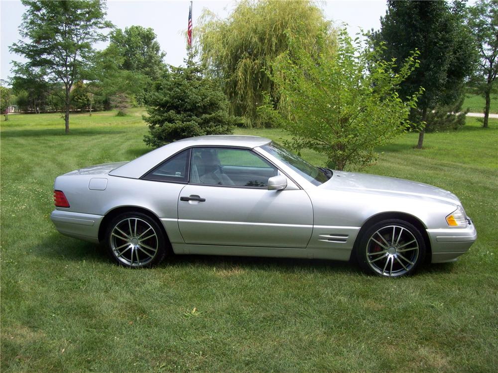 1998 MERCEDES-BENZ SL500 ROADSTER - Side Profile - 113059