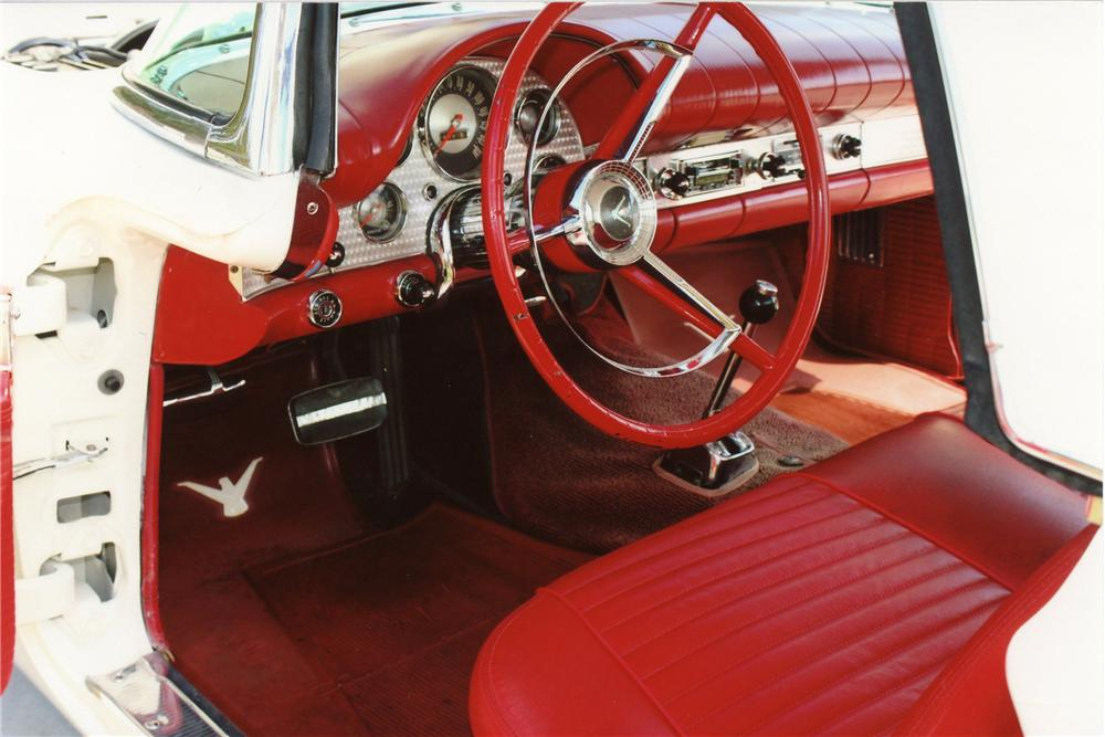 1957 FORD THUNDERBIRD E CONVERTIBLE - Interior - 113069